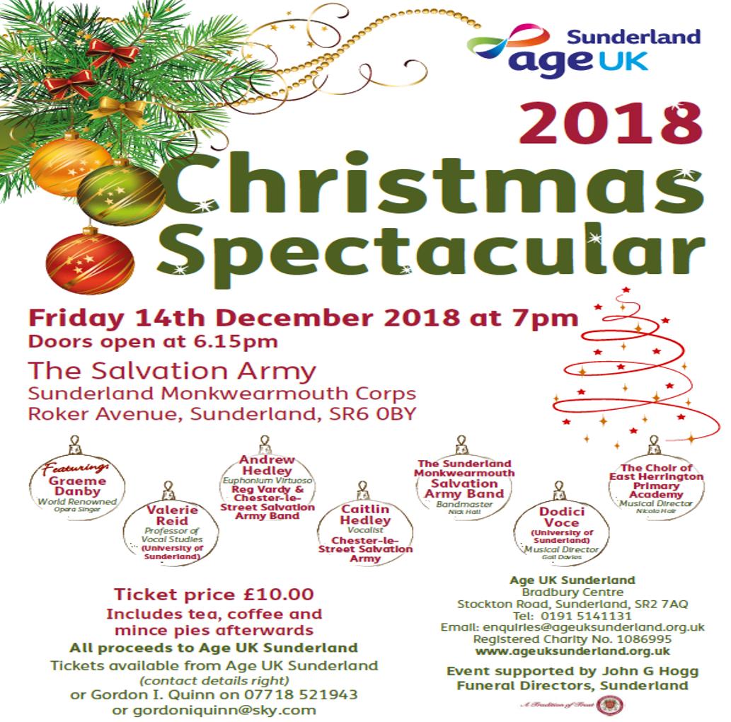 Christmas Spectacular 2018