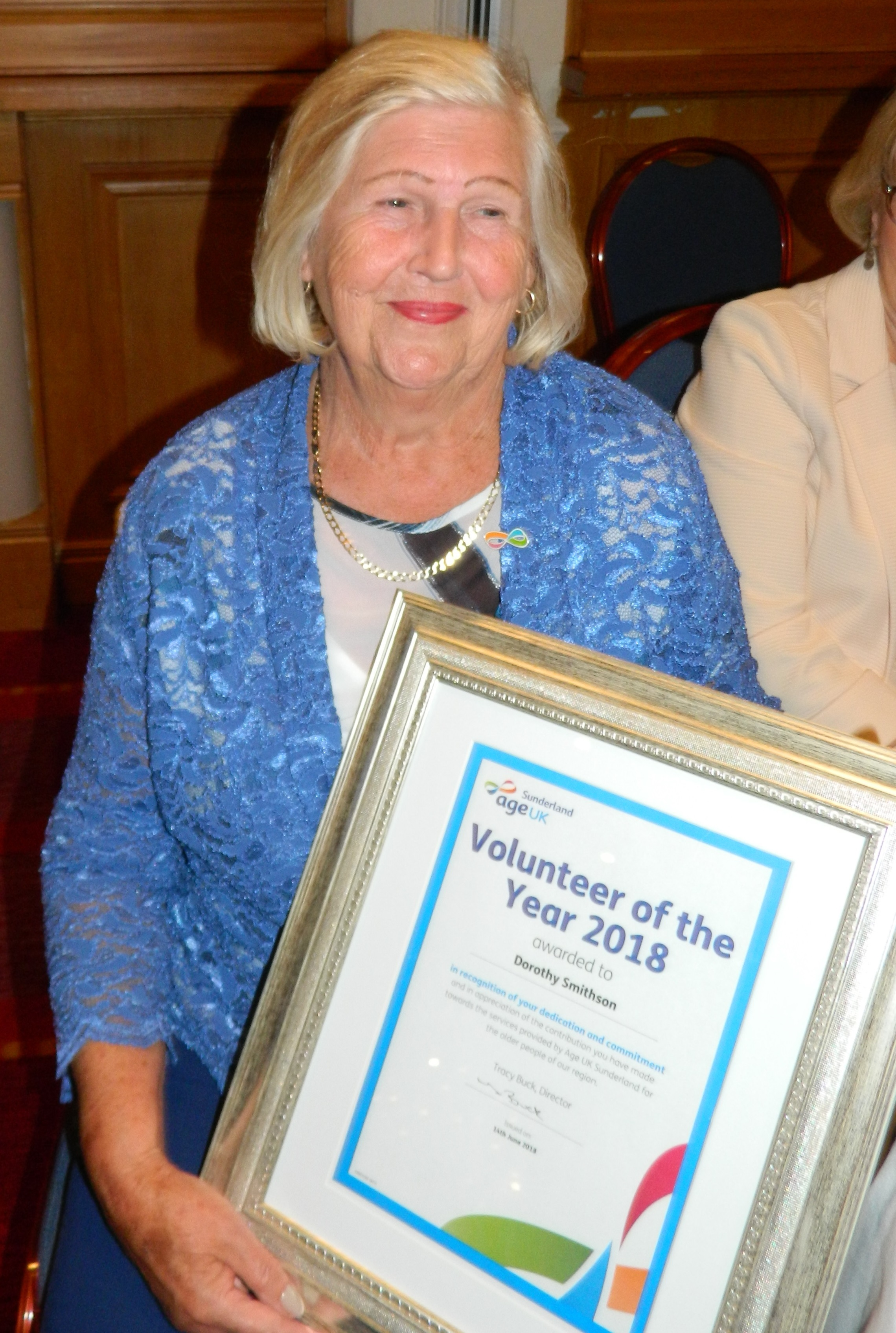Volunteer of the Year 2018