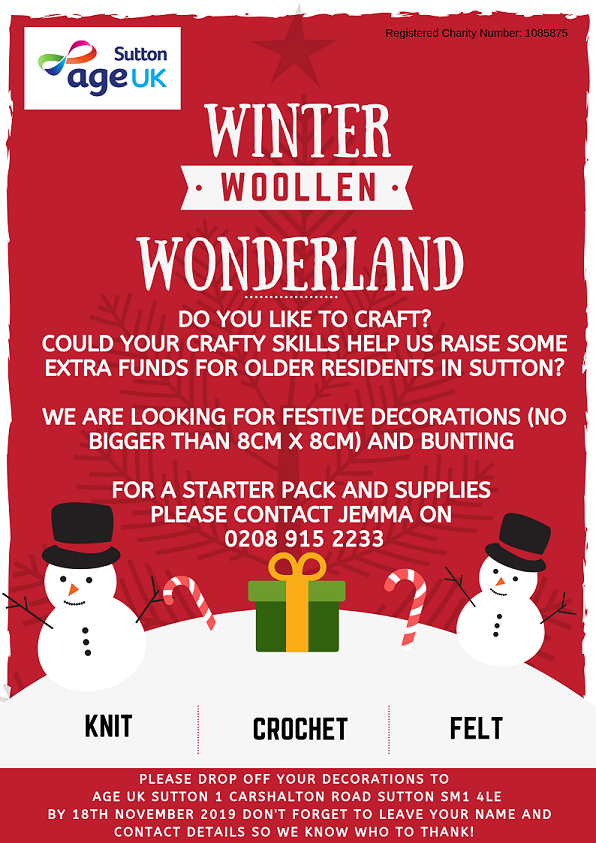 Winter Woollen Wonderland poster