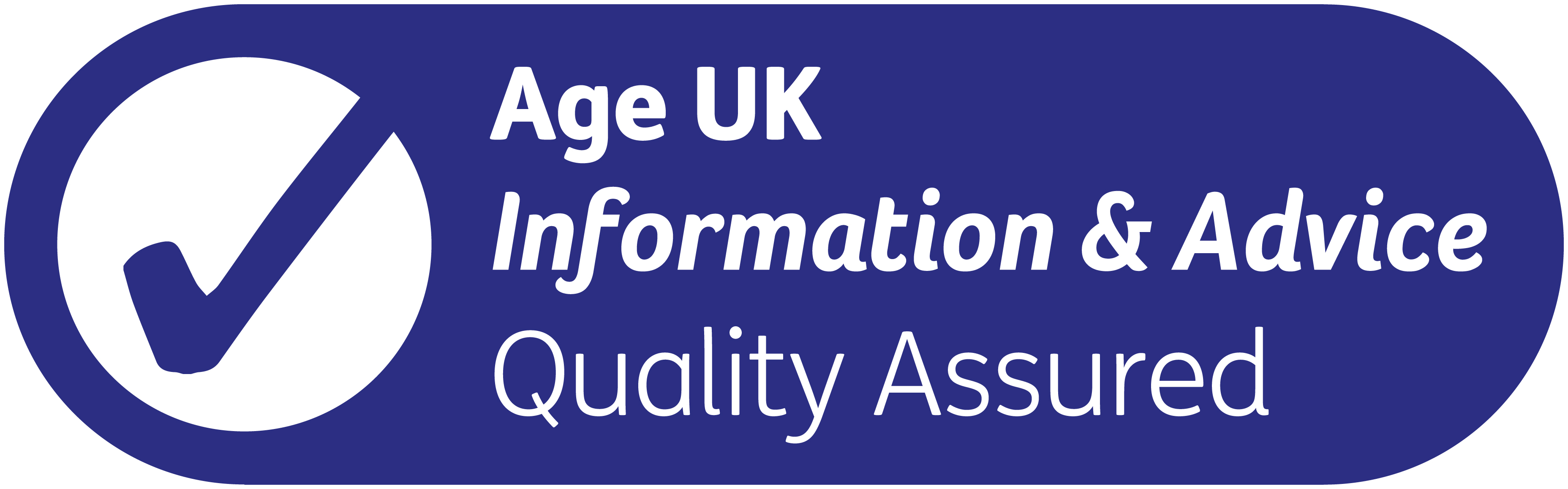 Age UK Information and Advice Quality Programme marque