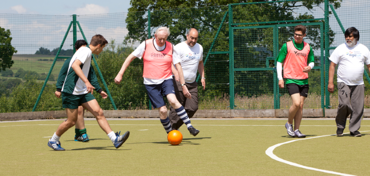 Sports clubs for over 50s