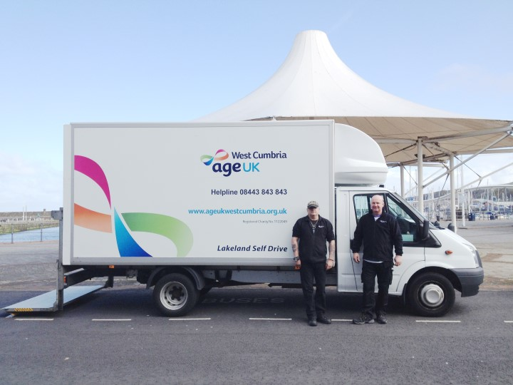 Age UK West Cumbria Van