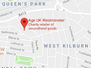 Age UK Westminster  Beethoven Centre  Third Avenue  London W10 4JL map