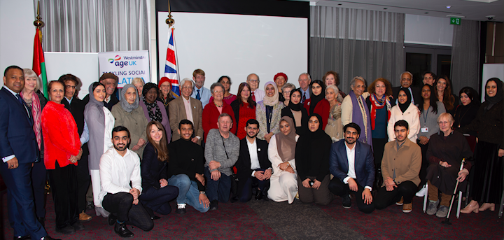 Age UK Westminster UAE Christmas Lunch
