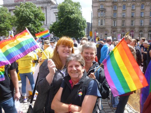 Liverpool Pride march 2018