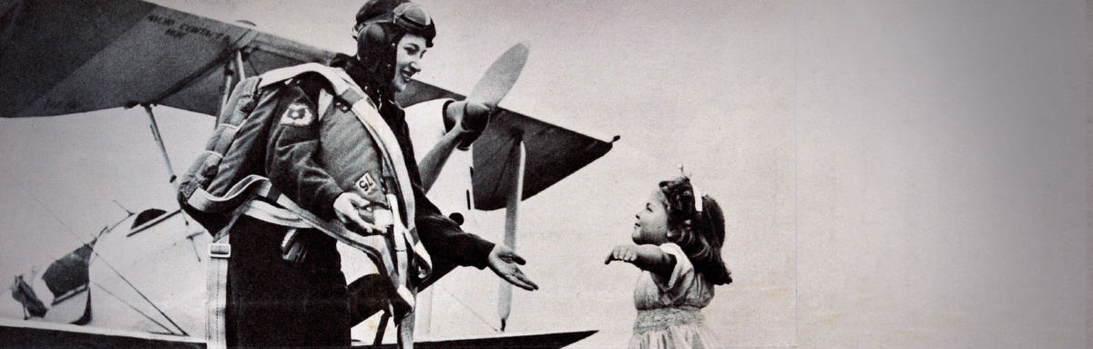 Pilot and child