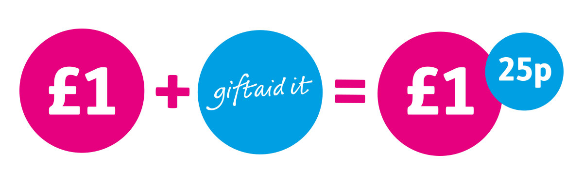 donations go further with gift aid age uk