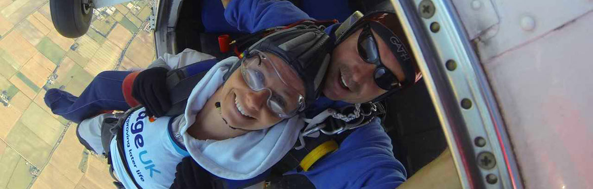 Skydive for charity | Age UK