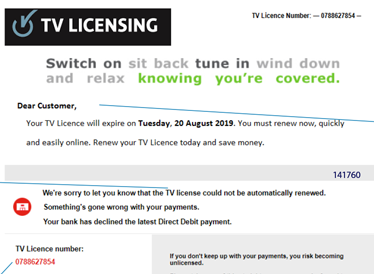 How To Spot A Tv Licence Scam Age Uk