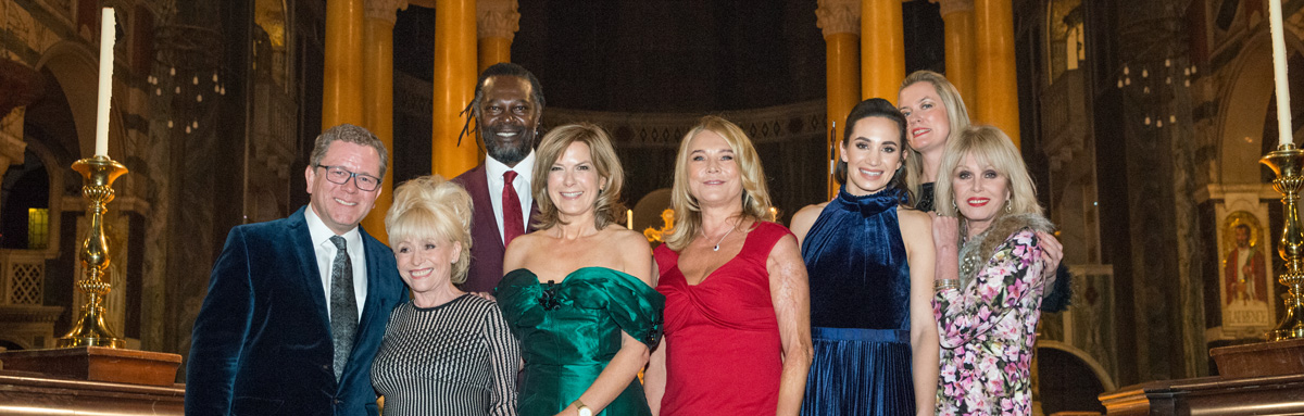 Love Christmas 2017 (Jon Culshaw, Barbara Windsor, Levi Roots, Penny Smith, Amanda Redman, Laura Wright, Lizzie Ball and Joanna Lumley)