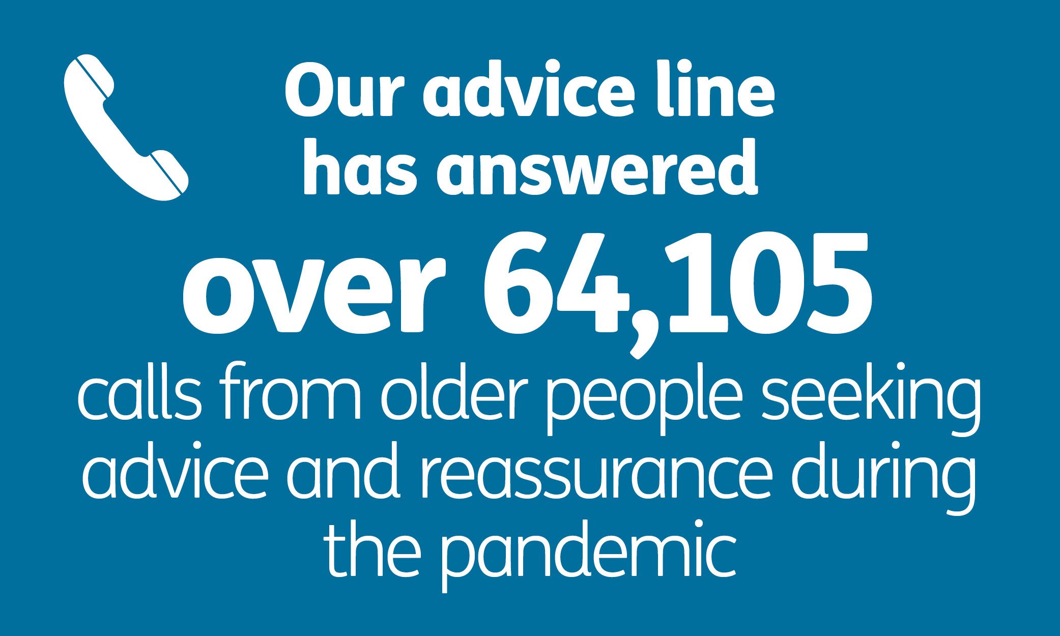 46,257 calls for help answered by our advice line