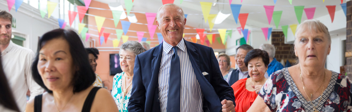Len Goodman - Age UK celebrity ambassador