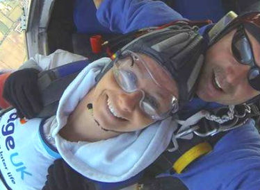 Age UK skydiving