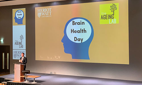 Professor Alan Gow at Brain Health Day