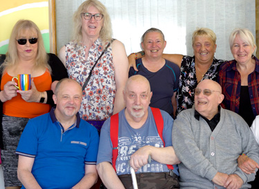 Video of Terrence at the LGBT group for older people at Age UK Oldham