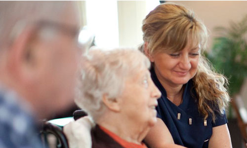 Older people with carer