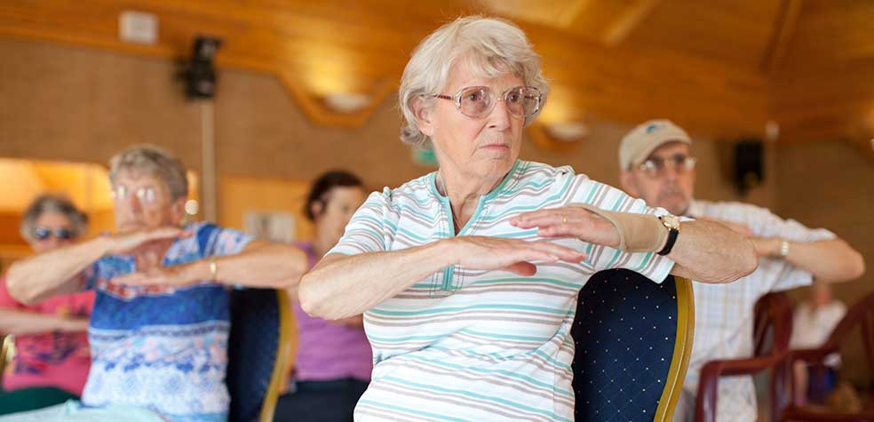 Keep fit exercises for the over 60s dating